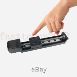 T6 Ballscrew Linear Stage Module L200mm Rail Guide Motion Actuator&Stepper Motor