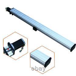 THK90 CNC Linear Slide Sliding Guide Sliding Block 1000mm with Stepper Motor 57 US