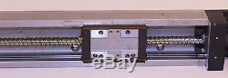 THK Ball Screw Linear Guide Actuator Vexta PH566 Motor Omron Sensors KR33 Jeol