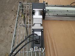 THK GL15N Linear Actuator with Yaskawa Servo Motor & Able Gear Reducer Assembly