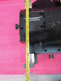 THK IKO Newport 6 x 12 Motorized XY Linear Positioning Stage & Servos 14 x 9
