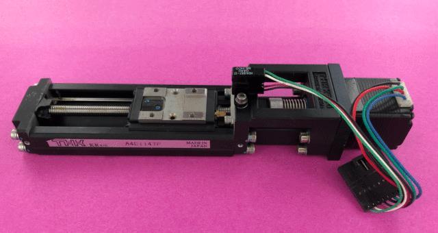 Thk Kr20 Ball Screw Linear Positioning Stage + Lin Stepper Motor 40mm Travel
