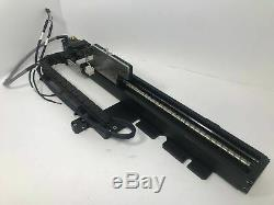 THK KR33A Motorized Ballscrew Positioner Linear Actuator 280mm with Cable Chain