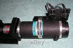 THK KR4610A+740L Ballscrew Driven Linear Actuator with Reliance DC Servo Motor