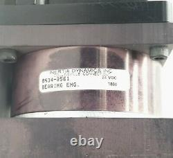 THK LM GUIDE ACTUATOR KR46 KR-46 3-BLOCK 28 TRAVEL With STEPPER MOTOR M2-3437-S
