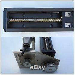 THK Linear Actuator KR33-D 500mm Stroke fitted with stepper motor