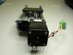 THK Linear actuator prototype NEMA17 stepper motor trapezoidial screw CNC z axis