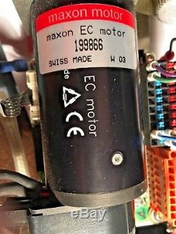 THK SRK33 Linear Guide Actuator 750mm withMAXON EC # 199866 Servo DC Motor