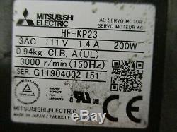 THK Type GL20 LM Actuator with Mitsubishi Electric HF-KP23 Motor