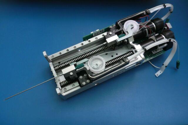 Thk Z Axis Liquid Dispenser Head Brushed Dc Servo Motor Linear Actuator Cnc 24v