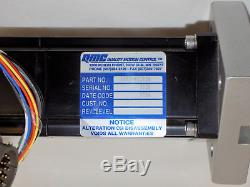 Thomson Superslide 2db12 Linear Ball Screw Positioner Actuator Stage Qmc Motor