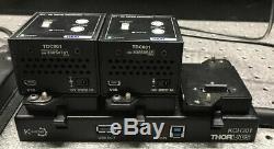 Thorlabs 2x Mts50/m-z8 Motorized Stage, 2x Tdc001 Controller, Kch301 Usb Hub Ps