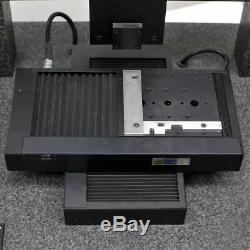 UBM Laserscan LP23 Precision Motorized XY stage 10x10cm with Black Granite Base