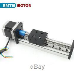 US Ball Screw CNC Linear Slide Stroke 1605 200mm Stage Actuator &Stepper Motor