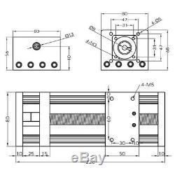 US SHIP100/200/300mm GGP ball screw linear guide slide + Nema 23 Stepper motor