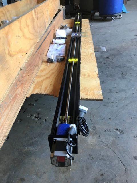 Velmex Motorized Bislide Mn10-0800-e01-21 Precision Lead Screw