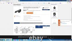 WARNER ELECTRIC Electrak S24-17A8-06 Linear Motor
