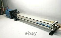 Warner Electrak 2000 Linear Actuator Bixx01-b7212-frn & Slo-syn Motor 120 Vac