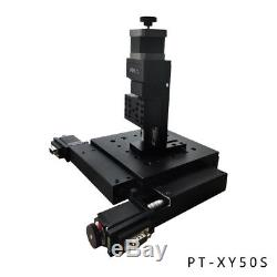 XY Motorized Microscope Stage Electric XY Integral Combinating Platform PT-XY50