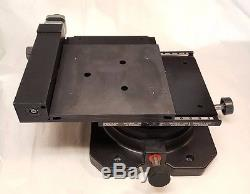XY Motorized Stage X Y with Manual Rotation Table