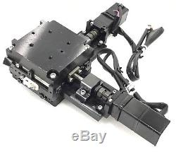 XY Table Linear Positioning Stage 2 Axis with Yaskawa SGMM-A2C312 AC Servo Motor