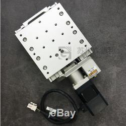 X Axis Precision Motorized Positioning Stage 120120 sakurai Precision Positione