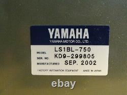 Yamaha Linear Slide Robot with Drive Motor, LS1BL-750