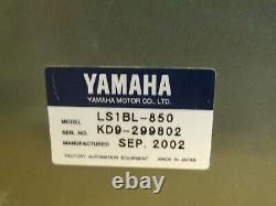 Yamaha Linear Slide Robot with Drive Motor, LS1BL-850