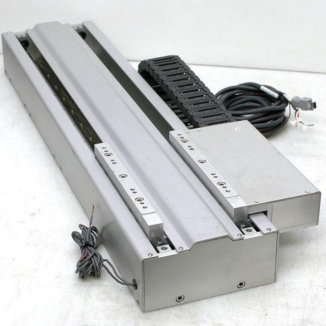 Yaskawa Sglfm-35756ac Magnetic Linear Motor Actuator 19 Travel Thk Ssr15 Rails