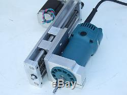 Z Axis Slide 6 Travel Anti-backlash Cnc Router Nema 23 Motor Included